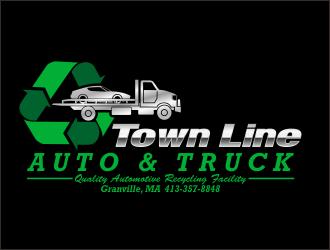 Town Line Auto & Truck logo design
