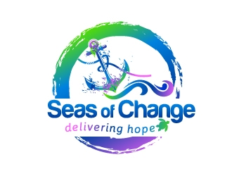 Seas of Change logo design
