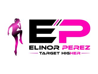 Elinor perez logo design