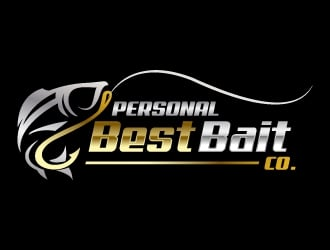 personal best bait co logo design