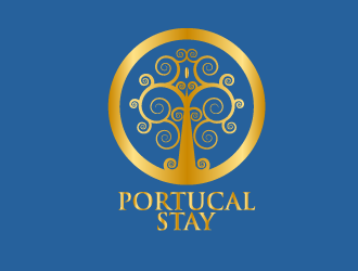Portucal Stay logo design