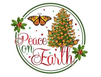 Peace On Earth logo design