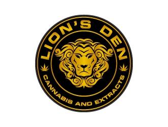 Lions Den logo design