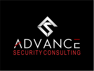 Advance Security Consulting logo design
