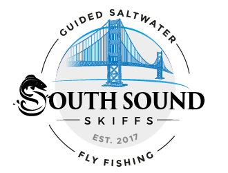 South Sound Skiffs - Guided Saltwater Fly Fishing logo design