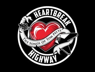 Heartbreak Highway.The Songs of Tom Petty logo design