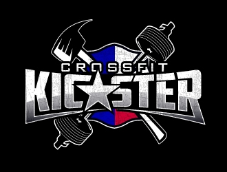 CrossFit Kicaster logo design