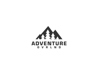 ADVENTURE.OVRLND logo design