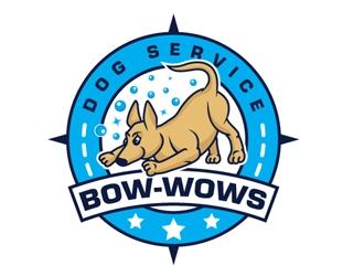 Bow-Wows Dog Services logo design winner