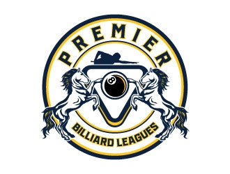 Premier Billiards League or Premier Billiard Leagues logo design