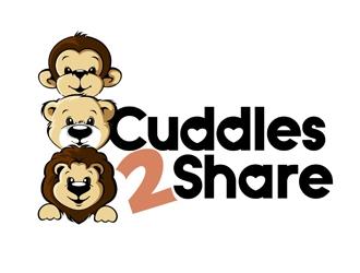 Cuddles2Share logo design