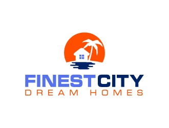 Finest City Dream Homes logo design