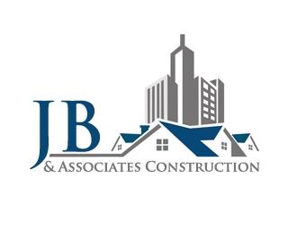 JB & Associates Construction logo design winner