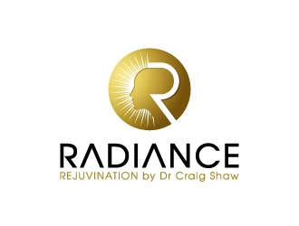 Radiance.    Rejuvination by Dr Craig Shaw logo design