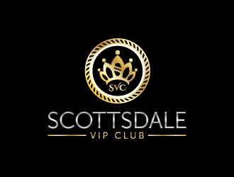 Scottsdale VIP Club logo design