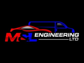 M&L Engineering LTD logo design