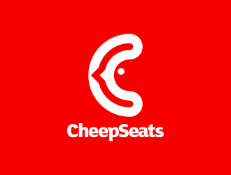 CheepSeats logo design