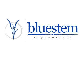 Bluestem Engineering logo design