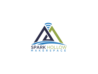 Spark Hollow logo design