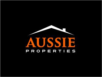 Aussie Properties  logo design