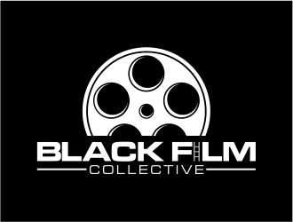 black film collective logo design