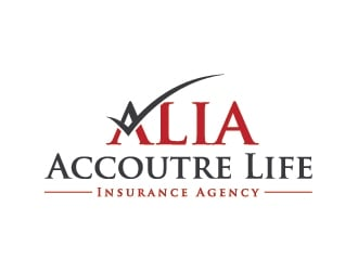 Accoutre Life Insurance Agency logo design