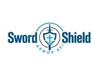 Sword and Shield logo design