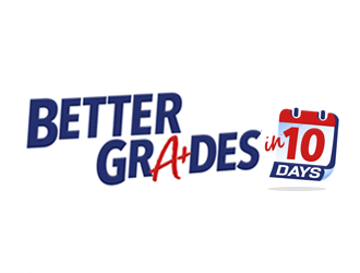 Get Better Grades in 10 Days logo design