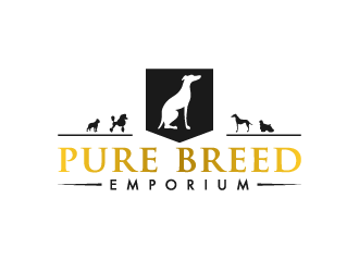 Pure Breed Emporium logo design