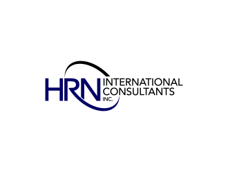 HRN International Consultants Inc. logo design