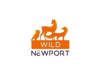 Wild Newport logo design