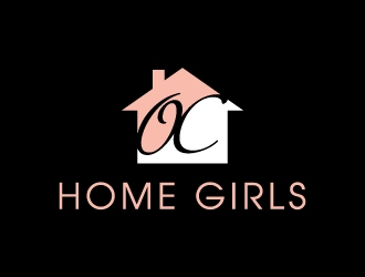OC Home Girls logo design