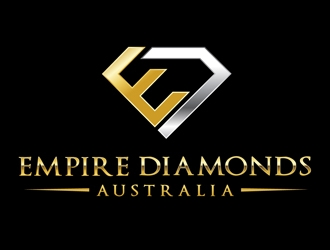 empire diamonds australia logo design