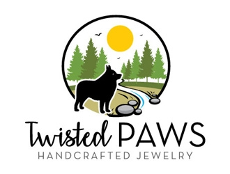 Twisted Paws logo design