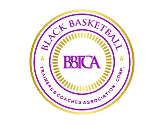 Black Basketball Trainers & Coaches Association, Corp. logo design
