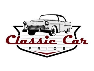 Classic Car Pride logo design