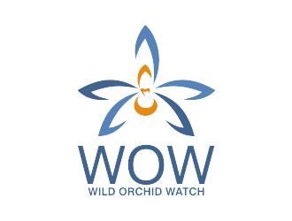 Wild Orchid Watch (WOW) logo design