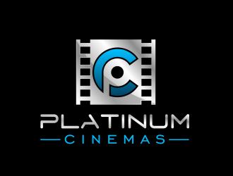 Platinum Cinemas logo design