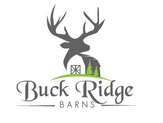 Buck Ridge Barns logo design