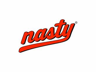 NASTY logo design
