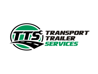 Transport Trailer Services logo design