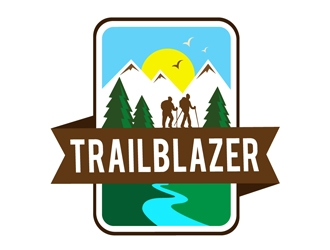 Trailblazer logo design