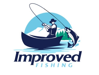 Improved Fishing  logo design