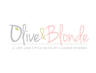 Olive and Blonde logo design