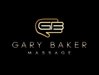 Gary Baker Massage logo design