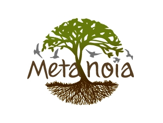 Metanoia logo design