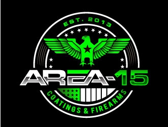 AREA-15 logo design
