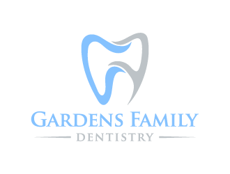 Gardens Family Dentistry logo design