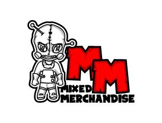 Mixed Merchandise  logo design