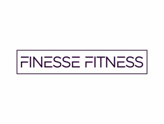 Finesse Fitness  logo design